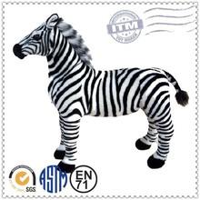 Wholesale best selling zebra stuffed animal