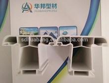 soundproof door panel/upvc door and window frames/upvc profile