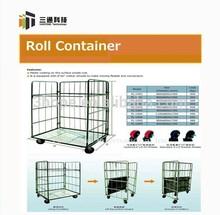 roll cage logistics cart roll trolley roll container logistics cart wire mesh container