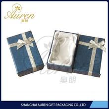rigid new paper jewelry box velvet