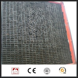 straight welded 30*30MM seamless black iron pipe