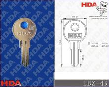 LBZ-4R Barrel lock meter key blank fob door