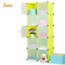 Novel stylish plastic cardboard furniture storage in cute design FH-AL0037-10