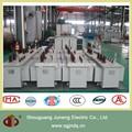 Kva 1600 doble bobinado en baño de aceite del transformador dyn11/yzn11