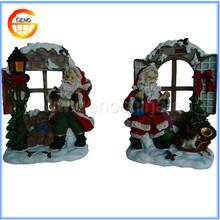 Ceramic Santa Cluas christmas decoration supplies