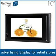 Flintstone 10 inch highway billboard advertising mini portable dvd player with tft screen