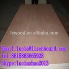 4x8 furniture grade plywood E1 , pencil ceder veneer faced commercial plywood , redwood veneer plywood