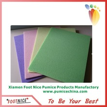 new product Multi-function pumice sponge non-slip foot bath pad
