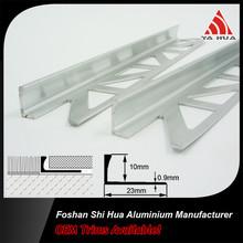 Tile accessories aluminum straight angle tile trim