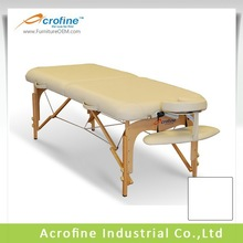 Acrofine wooden beauty couches with reiki panel