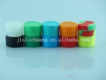Hot selling silicone dab wax container for jars, wholesales silicone jars/containers/oil containers