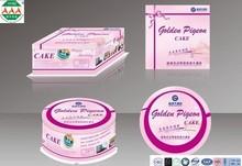 custom design food grade packaging kraft paper cake box