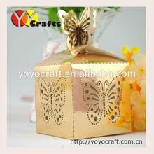 luxury wedding door gift box decoration for wedding sweet box