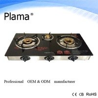 three burner Gas Stove Automatic