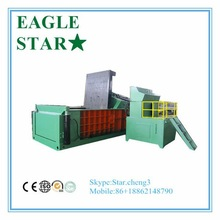scrap aluminum press y81q-2000 automatic hydraulic metal baler machine