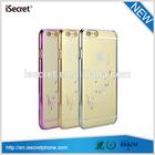 iSecret Glitter rhinestone phone case,cheap phone cover for iphone 6