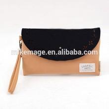 Fashion leather weekend hand bag