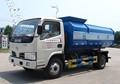 Dongfeng 4*2 capacidade de caminhãodelixo 5 tonelada para a venda 100hp