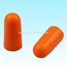 CE soundproof comfortable foam reusable silicon earplugs