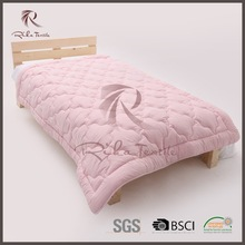 hot selling pink microfiber jacquard bed duvet with new 2015 classical pattern style