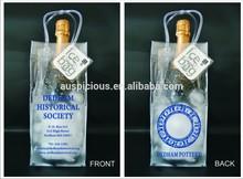 Australia Custom fresco ice bag wine ice plastic bucket