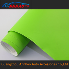 Self Adhesive Vinyl Roll 1.52*30m with Air Bubble for Car Body Wrapping Matte Film Blunt Wrap