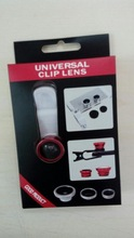 Universal clip lens for mobiel phone -- 3 in 1