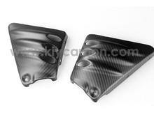 Real Carbon Fiber Side Covers Vented for Harley-Davidson V-Rod VRSC A-B-R-D-SE