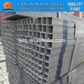 2014ขายร้อนท่อสี่เหลี่ยมสังกะสีเหล็กคาร์บอนในสิงคโปร์