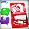 For iPhone Sync Data Cable/Car Charger/earphone 3 in 1