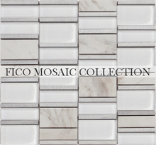 Fico mosaic, GML707S, mosaic sun patterns