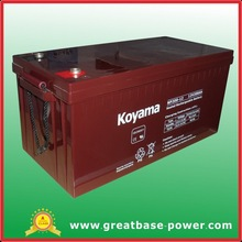 Top quality Sealed lead acid Sunlight storage battery 200 AH 12V