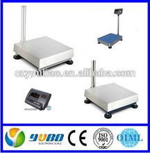 electronic weighing platform scale( Capacity 30kg, 60kg,75kg, 150kg, 300kg, 500kg , etc.)
