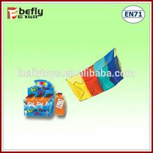 Child rainbow kitesurfing kites