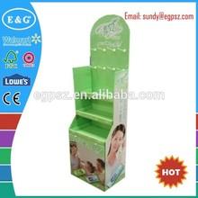 Hot sale foldable shop shelf display cosmetic