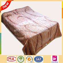 2015 fashion bulk wholesale fleece blanket wool acrylic polyester royal mink blanket