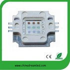 high quality led rgb colour 10w 6 pin rgb led Bridgelux chip epstar chip epileds chip CE&RoHS certificate