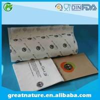 Custom logo printed paper napkin, wrapping paper, paper bag