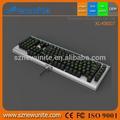 popular vendedor caliente mini usb flexible teclado de la computadora