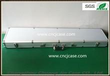 high quality silver custom aluminum gun box,aluminum gun case