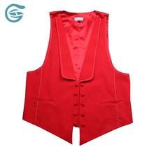 OEM Red Waistcoat Or Vest For Women