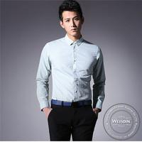 220 grams hot sale silk/cotton boy dress shirt short sleeve