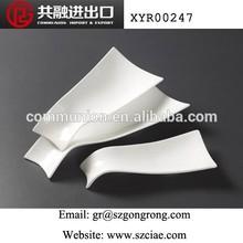 """9""""11""""13""""15""""2015 New design ceramic Rectangular plate"""