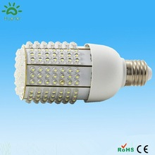 1100 lumens solar led corn bulb light lamp e27 10w 11w DC12-24v 201leds with CE&RoHS