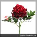 Flor artificial decorativa corona de flores, flor artificial de ramo de novia, arreglos de flores artificiales, sgs, iso9001