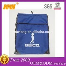 drawstring backpack bag with front zipper pocket