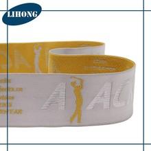 Custom colored brand elastic band, nylon elastic webbing