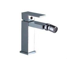 European Italian style brass chrome bathroom square bidet faucet