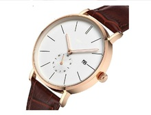 Dated big dial watches popular unisex gift timepieces