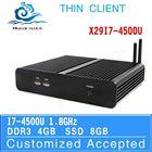 small but popular i7 mini pc x29-i7 4500u fanless dual core thin client 4g ram 8g ssd 1.8Ghz mini tablet pc support full screen